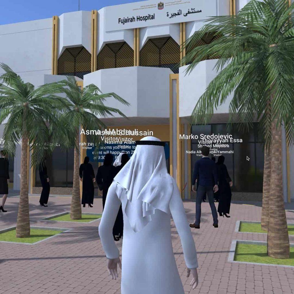 3D Fujairah Hospital Venue