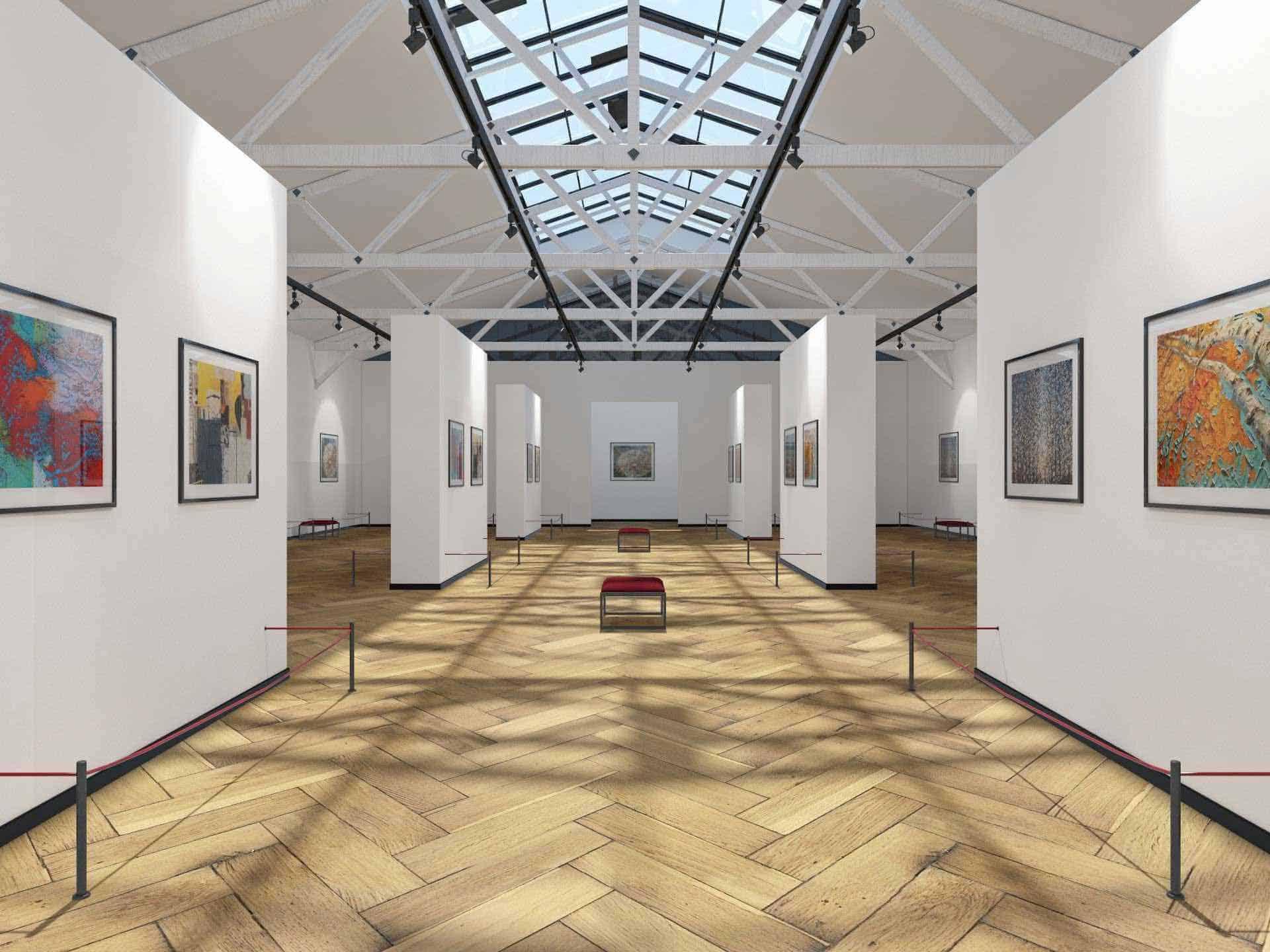 Virtual art fair and art gallery
