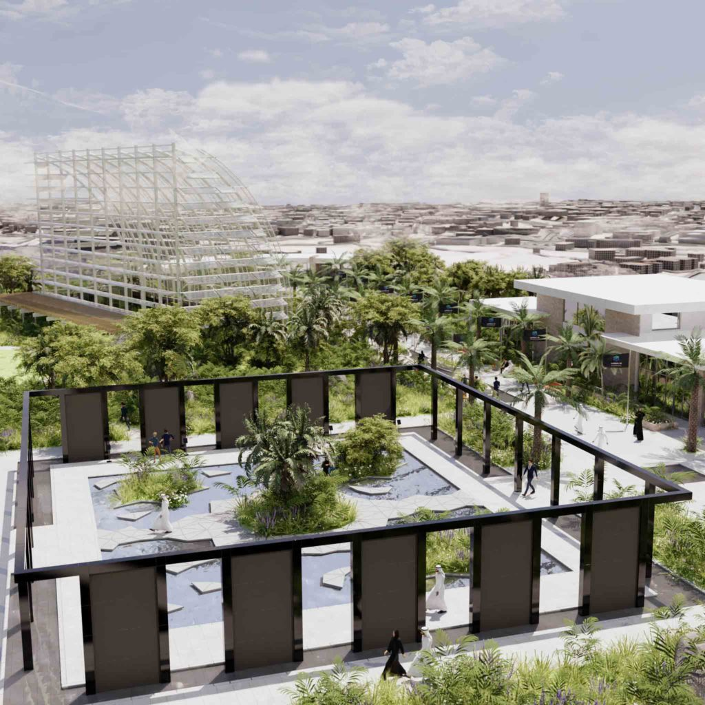 Virtual Umm Al Emarat Park for custom events platform