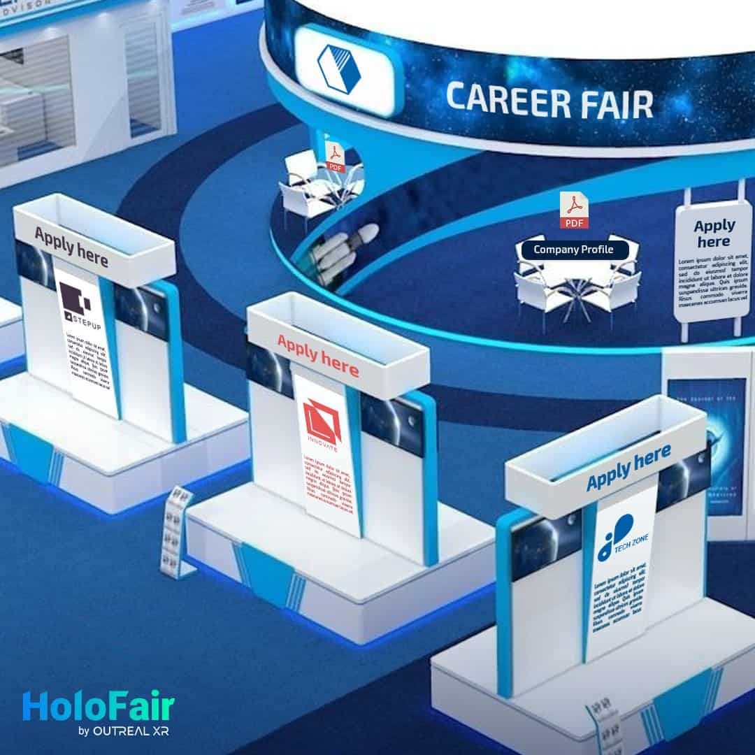 virtual career fair platform